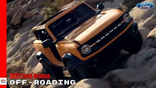 New 2021 Ford Bronco Off Road Capability