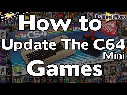 The C64 Mini - How to add / update games via USB | Quick & Easy Guide [Commodore 64] C64