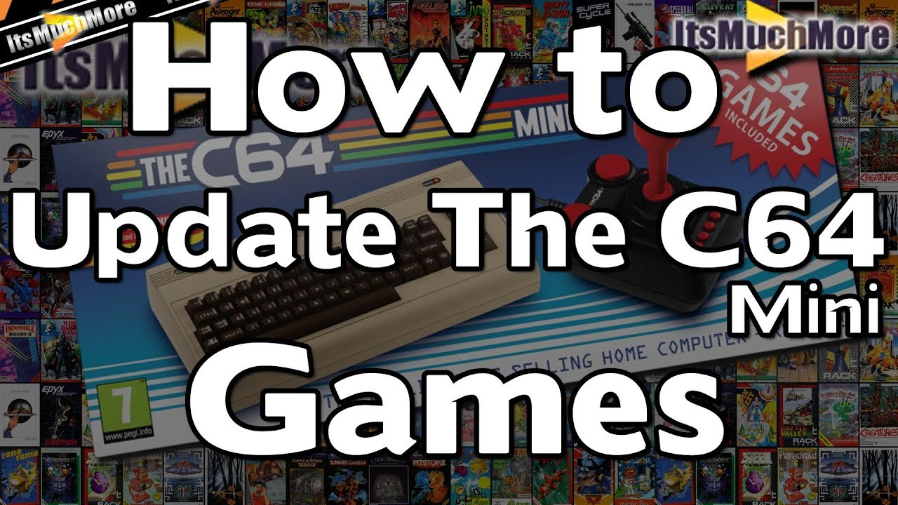 The C64 Mini - How to add more Games via USB | Quick & Easy Update Guide  [Commodore 64]