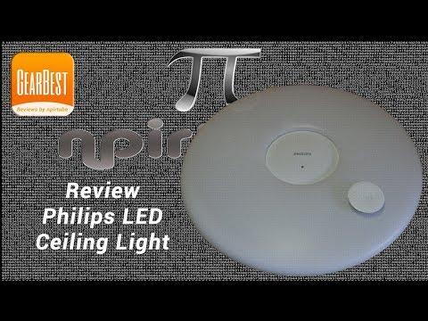 Review Philips LED Ceiling Lamp npirtube