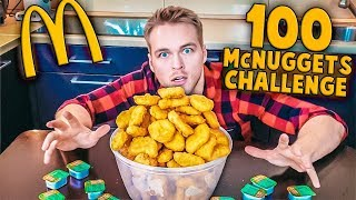 100 McNUGGETS CHALLENGE (5000KCAL) | [Epic Cheat Meal]