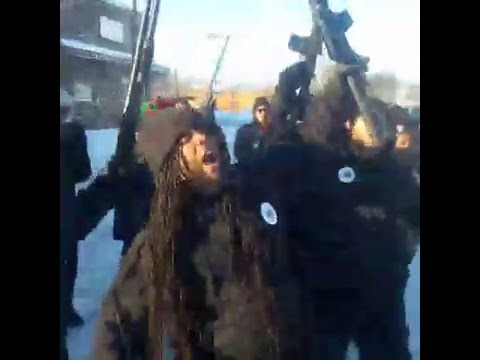 ARMED MARCH by Revolutionary Black Panthers Party