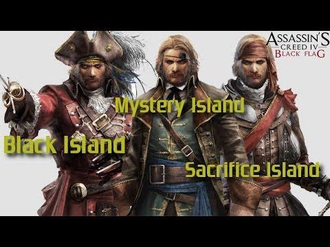 AC4 Black Island, Mystery Island & Sacrifice Island (DLC)