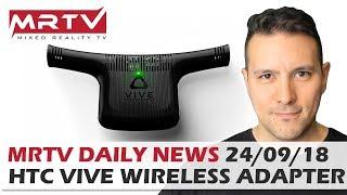 DAILY NEWS #68: Vive Wireless Adapter Erhältlich, OpenOVR für Rift, Haptische Weste Hardlight Pleite