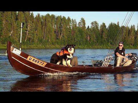 Pello Lapissa- Suomen kalastuspääkaupunki: lohenkalastus Tornionjoki - Miekojärvi Napapiiri Lappi