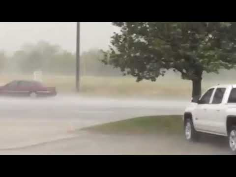August downpour