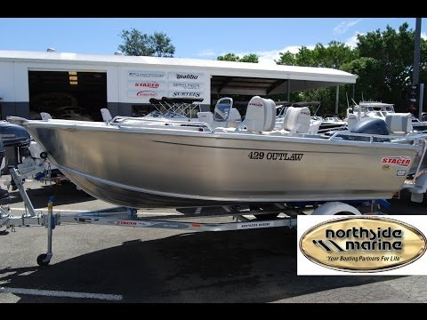 Northside Marine Water Test - Stacer 429 Outlaw Side Console