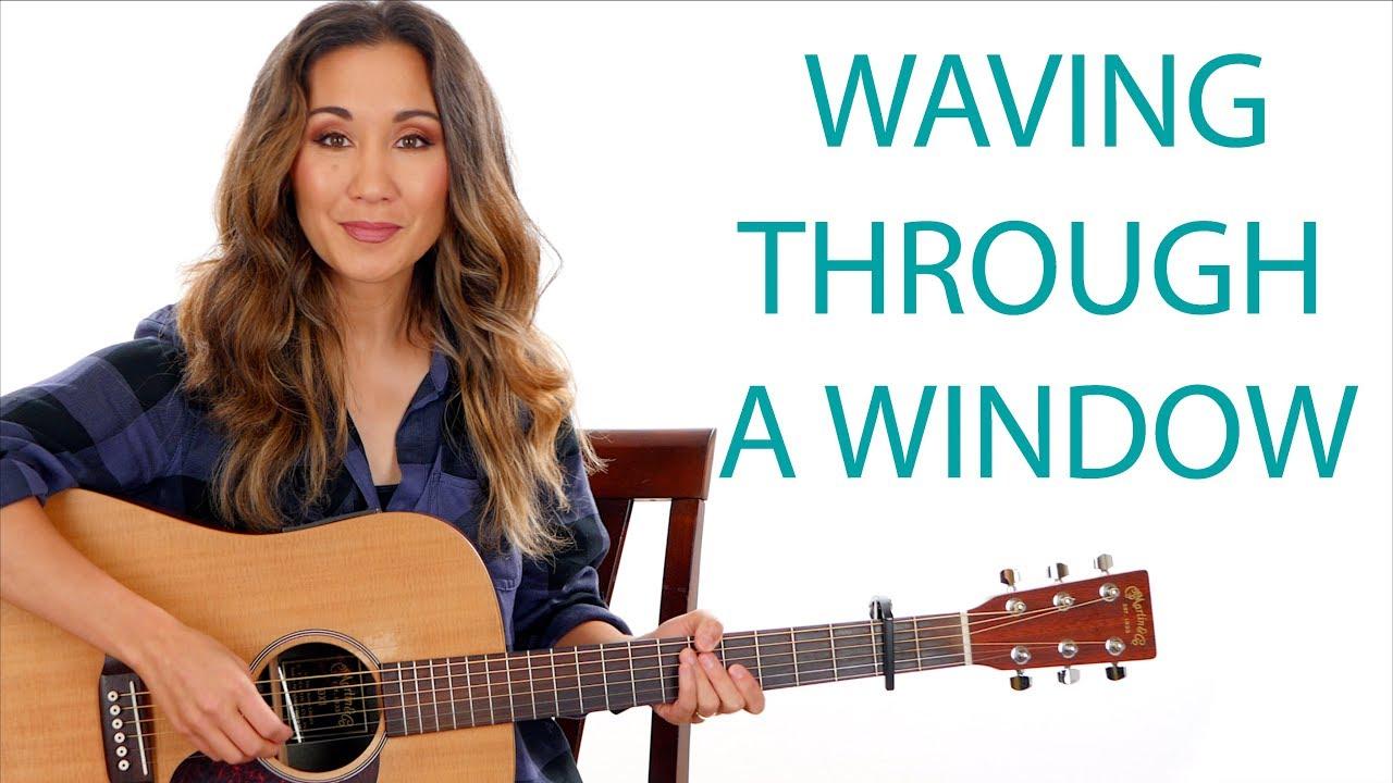 waving through a window sheet music pdf free