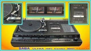 Saba Ultra HiFi Center 9941 Dual 491 A Plattenspieler Tapedeck Radio Reparatur und Wiederherstellung