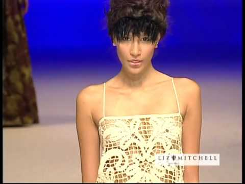 Liz Mitchell - Night Flowers of the Pacific - New Zealand Fashion Week A/W 2006