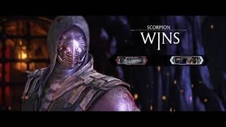 Mortal Kombat XL Fighting the best scorpion player in the world JINAMOUNANAI i get rekd 7-0.
