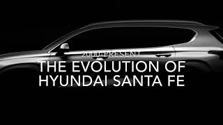 Evolution of Hyundai Santa Fe (2000-2019)