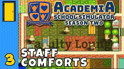 Miss! Why Are There Shrubs In Your Toilet Miss? | Academia: School Simulator - Season 2 - Part 3