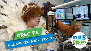 Arrested on Halloween, Hooked Up in the Cemetery, Hate Halloween | Greg T's Topic Train
