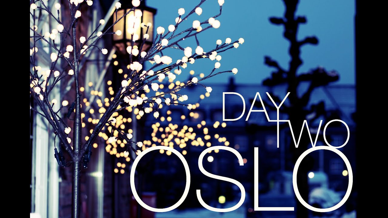 OSLO CHRISTMAS MARKETS - NORWAY   twoplustwocrew - YouTube