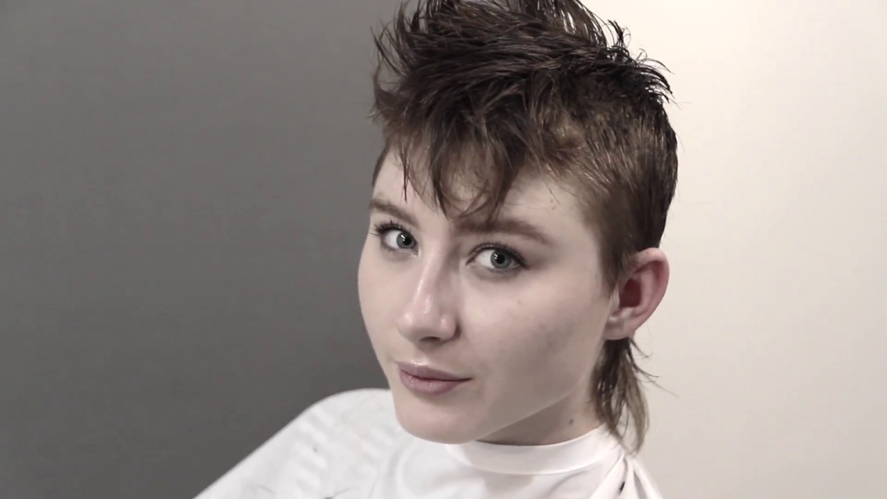Complete Haircut How To Cut A Mohawk Mullet With Aaron Scott Lacy