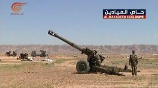 القوات الصاروخية والمدفعية العراقية تساند الأمن في صد داعش    1-4-2016