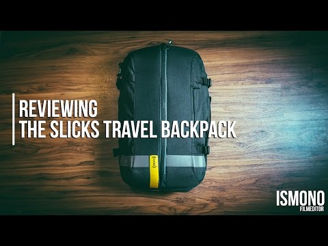 The perfect Carry-On Bag? Reviewing the Slicks Travel Backpack // TECH TALK
