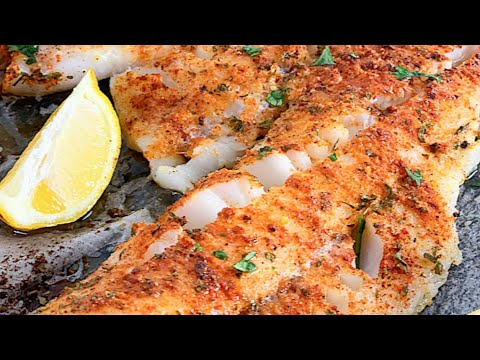 Oven Baked Cod Fish Fillets - How To Make Cod Fish | Let's Eat Cuisine