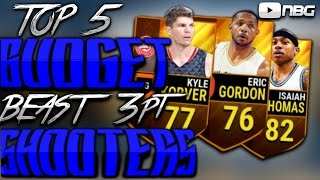 Nba Live Mobile Top 5 Budget 3 pt Shooters!!! INSANELY HELPFUL!!!!