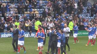 Portsmouth F.C. Lap of Appreciation 2014-15