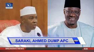 Senate President Saraki, Gov Ahmed Dump APC |Politics Today|