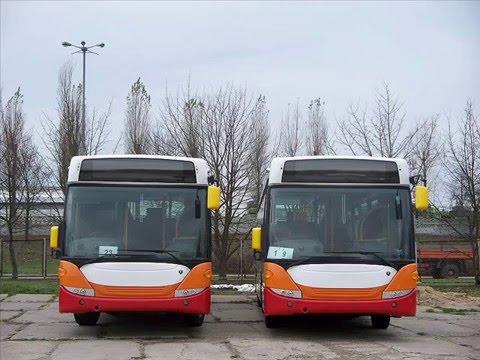 Autobusy Scania Słupsk Production cz. 1