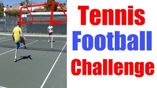 Tennis Forfeit Challenge #7 | Football Tennis