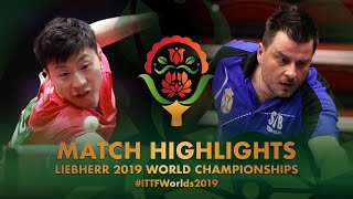 Ma Long vs Aleksandar Karakasevic | 2019 World Championships Highlights (R128)