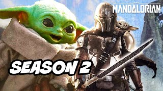 Star Wars The Mandalorian Season 2 Baby Yoda Announcement - TOP 10 WTF Breakdown