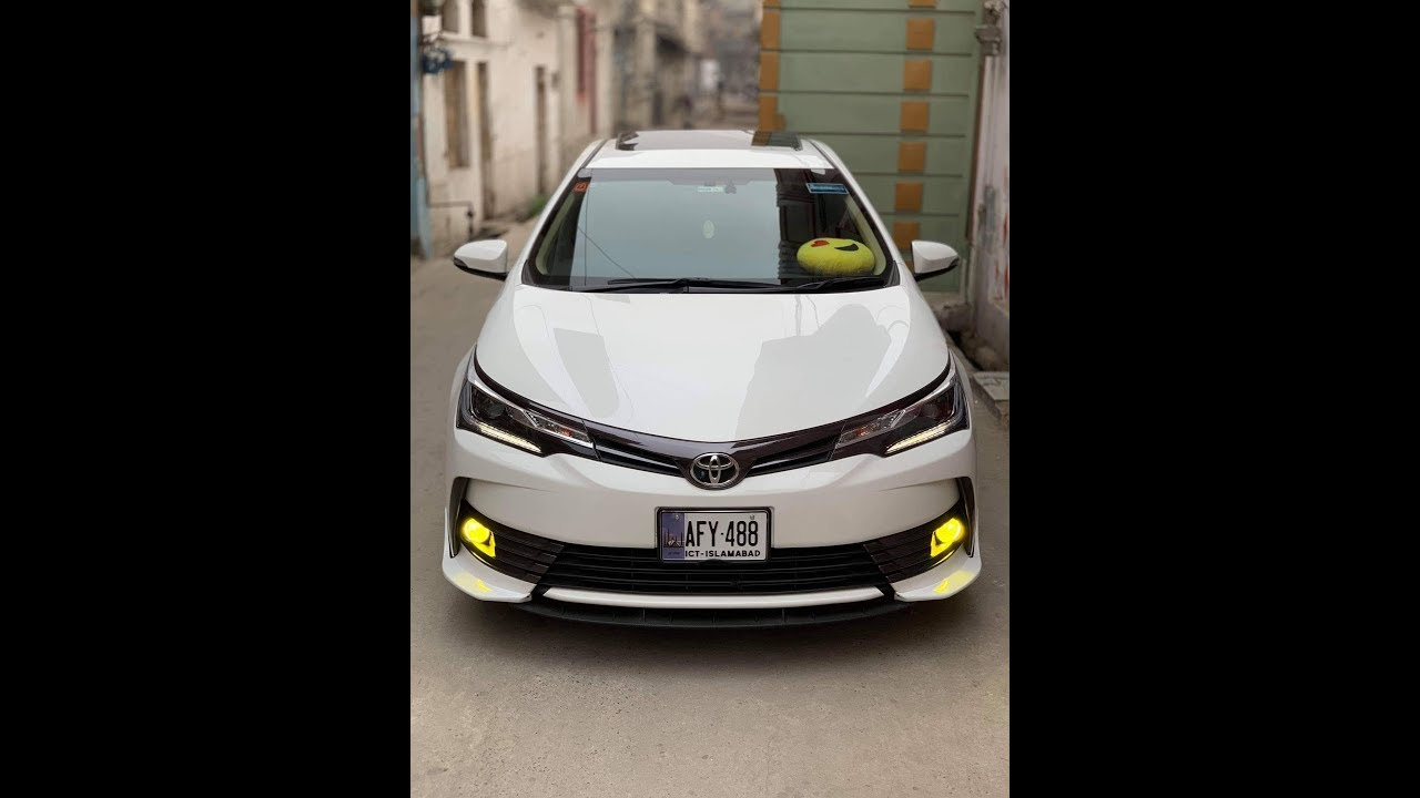 2019 Toyota Corolla Altis Grande Drift In Pakistan Youtube