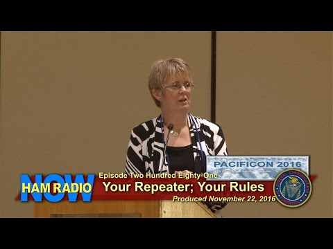 HRN 281: Your Repeater; Your Rules (FCC's Laura Smith at Pacificon)