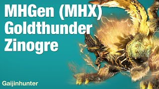Monster Hunter Generations (MHX): Goldthunder Zinogre