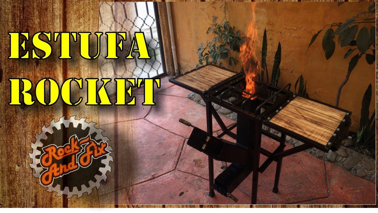 Diy Estufa Rocket Rocket Stove Paso A Paso Youtube