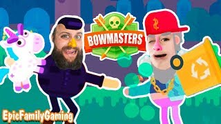 Who Is The Ultimate Bowmaster? Lil Dump Jeremy VS Chang Wu King and other Bowmasters Battles