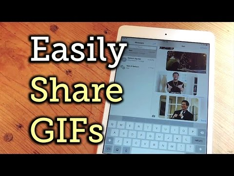 The Easiest Way to Search for & Share GIFs on iPads & iPhones - iOS [How-To]
