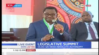 Legislative Summit: Senator Orengo claims legislative summit is a \'talking show\'