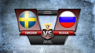 6 NATIONS TOURNAMENT. Sweden - W Russia. 09.02.2019