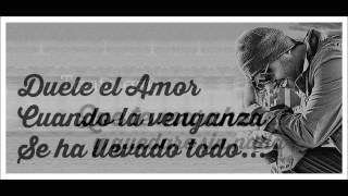 Duele El Amor - Tony Dize (Video Letra) (Reggaeton Romantico 2015) @wilderjara1