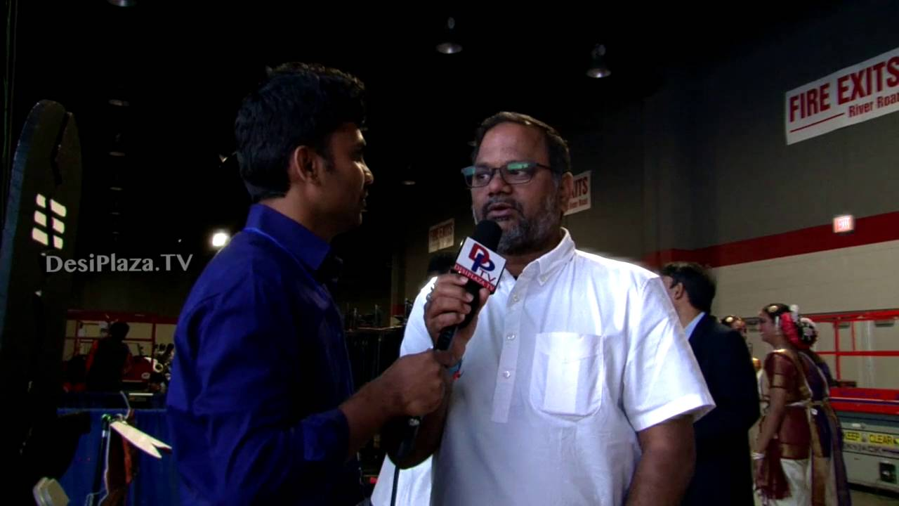 Telugu movie Director Aditya garu speaking to Desiplaza TV at ATA Convention 2016.