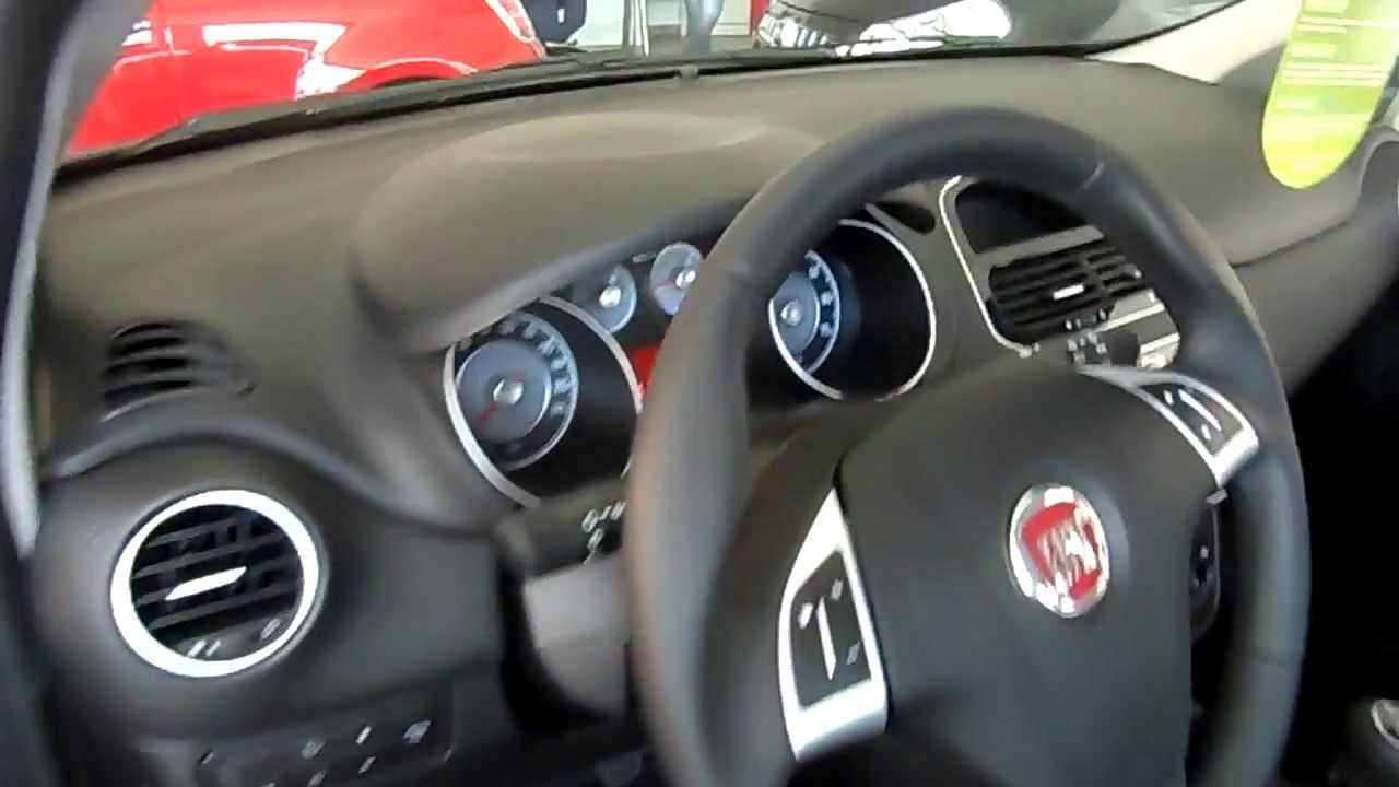 2013 fiat punto easy review exterior and interior youtube. Black Bedroom Furniture Sets. Home Design Ideas