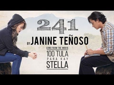 Janine Teñoso — 241  from the movie 100 Tula Para Kay Stella  Lyric