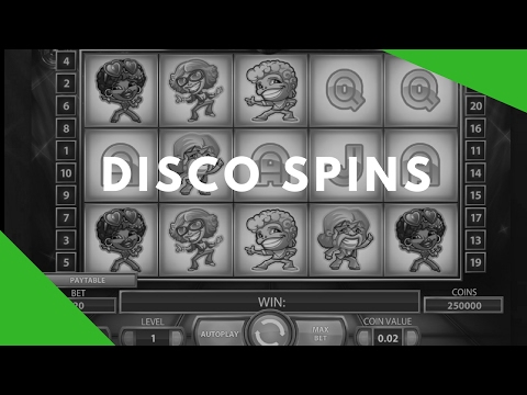Disco Spins | Disco Spins 2017 Slot Gameplay & Review