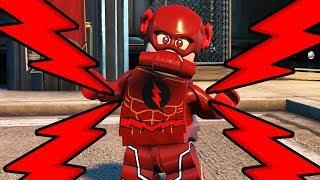 LEGO DC SUPERVILLAINS - Red Lantern Reverse Flash!