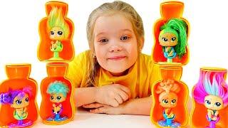Лерочка и салон красоты для кукол Hairdooz
