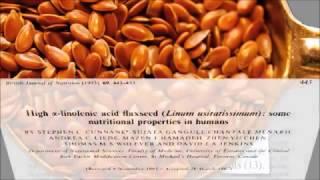 Семена льна против диабета - Научные исследования