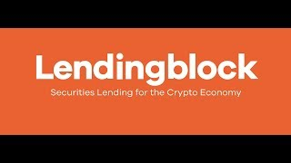 [ICO] [BOUNTY] LENDINGBLOCK - Платформа  кредитования в сфере криптоэкономики на Blockchain