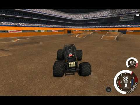 BeamNG.Drive monster jam: Another Custom line-up