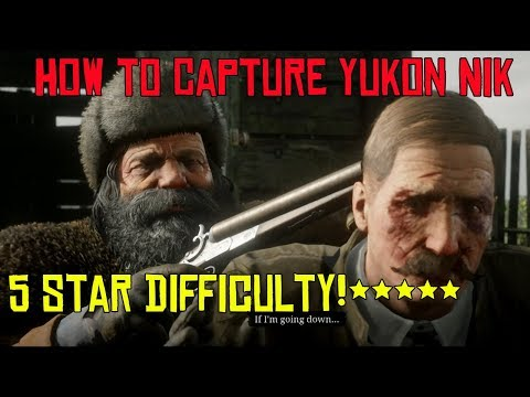 Red Dead Online How To Capture Yukon Nik And Save The Marshal Final Legendary Bounty 5 Star !