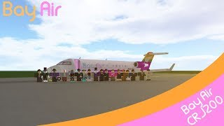 [ROBLOX] Working onboard a Bay Air CRJ200!